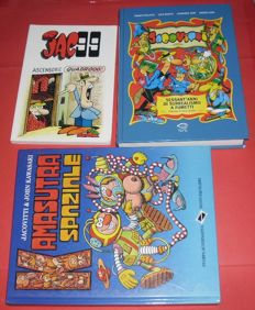"Jacovitti, Benito - 3x volumes ""Jacovitti"", ""Kamasutra Spaziale"" and ""Jac 99"""
