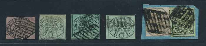 Stato Pontificio 1852 - Collection lot