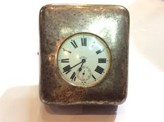 Goliath Argentan 8 Days pocket watch with silver case – ca 1920