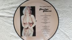 """A great lot of 2 picture Discs and calendar by Marilyn Monroe and 5 albums and 1  12"""" maxi-single with colored vinyl"""