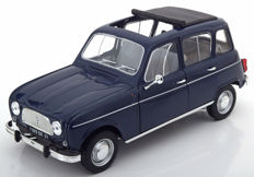 Norev - 1/18 Scale- Renault 4 - 1965 - Colour: Copenhagen blue