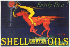 Jean d'Ylen - Shell Oils easily first - 1980