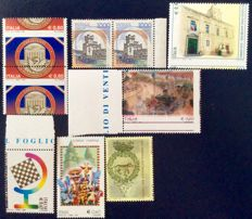 Italy – Lot of 7 varieties