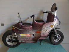 Fairground motorcycle from the 1970s/80s