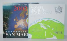 San Marino – Year pack 2002 + 2008