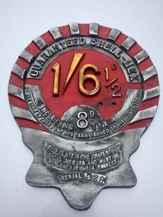 Vintage Shell Petrol Pump Price / Brand Sign