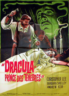 Anonymous - Dracula Prince des Ténèbres / Dracula Prince of darkness - fin 1960