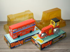 Dinky Toys - Various scales - Aveling Barford Diesel Roller No.279 and Atlantean City Bus No.291