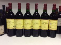 1993 Chateau Lynch-Moussas, Grand Cru Classe Pauillac, France - 6 bottles 0,75l