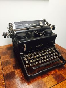 English Imperial typewriter type 11