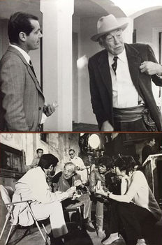 "Unknown - John Huston and others - ""Chinatown"" & ""A walk with love and death"" - 1974 / 1969"