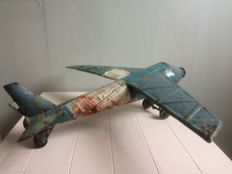 Plane made from reclaimed, upcycle at its best