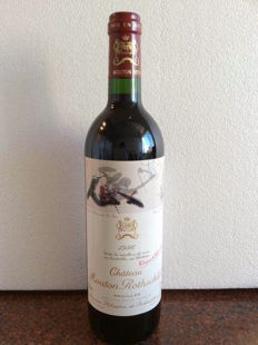 1996 Chateau Mouton Rothschild 1er GCC - 1 bottle (75cl)