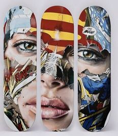 Sandra Chevrier - Skateboards