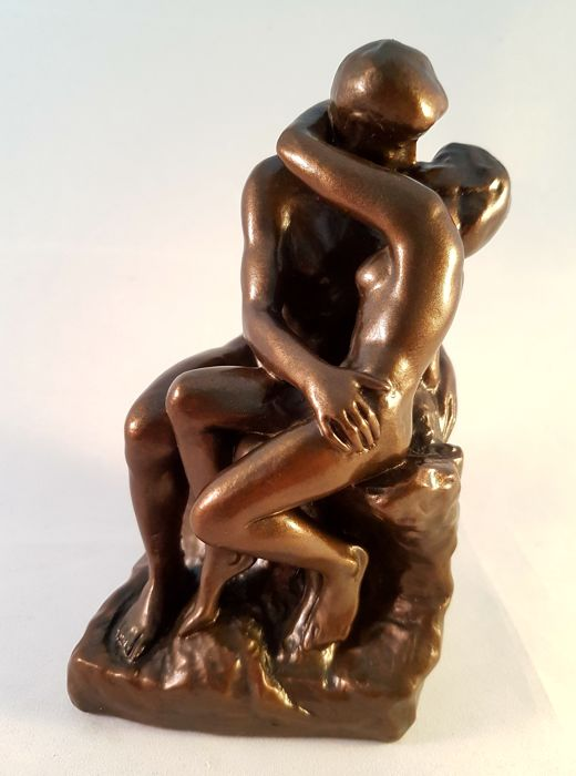 The Kiss (le Baiser) - Auguste Rodin - (1840-1917) - Mouseion Collection