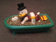 Disney, Walt - Figure Démons & Merveilles - Uncle Scrooge in Bathtub (1985)