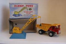 Dinky Toys - Scale 1/48 - Goods Yard Crane no.752 and Aveling-Barford Centaur Dump Truck no.924