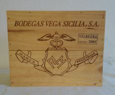 2008 Vega Sicilia - Valbuena 5º year - 3 bottles (75cl) in OWC