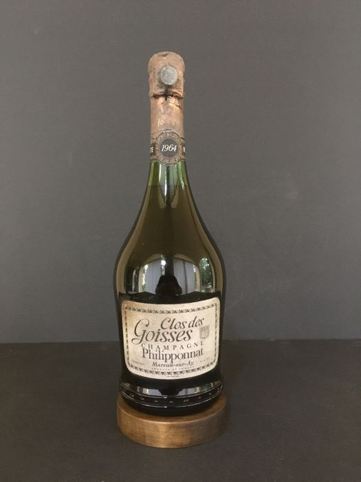1964 Champagne Philipponnat. Clos des Goisses. N°. 1 Bottle, cl. 78