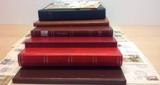 France - collection in six stock books, including Red Cross booklets