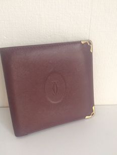 Cartier Paris – leather wallet – ***No minimum price***