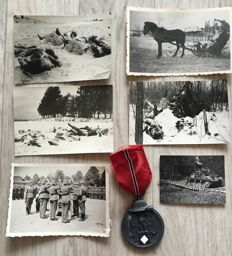 World War - The Eastern front: Photos and medal - Winter battle in the East 1941/42