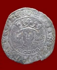 España - Enrique IV, 1 Cuartillo de vellon, Sevilla - 27 mm / 2,2 gr