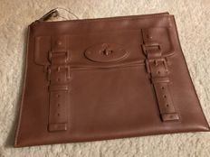 Mulberry - maisie leather pouch - oak color