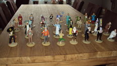 Hergé - 33x Kuifje beeldjes Moulinsart - Figurines Tintin: La Collection Offiecielle - (jaren '10)