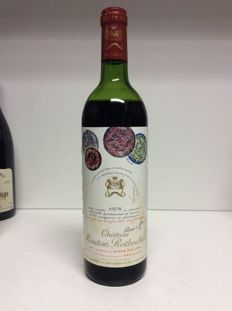 1978 Chateau Mouton Rothschild, Premier Grand Cru Classe, Pauillac, France - 1 bottle 0,75l