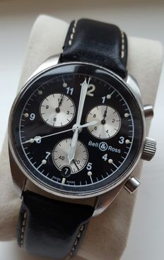 Bell&Ross Vintage 120 Flyback Chronograph - Mens Watch