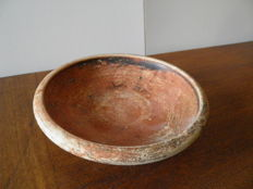 Greek terracotta plate - dia 160 mm