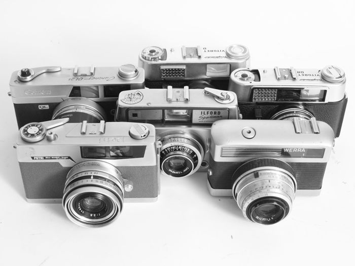 6 cameras from the 1960s