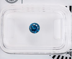 0.42  ct Blue Diamond  SI3