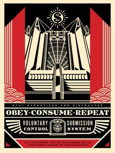 Shepard Fairey (OBEY) - Church of Consumption