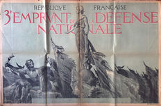 Lelong - 3ème Emprunt de la défense nationale (Guerre 14-18) - 1917