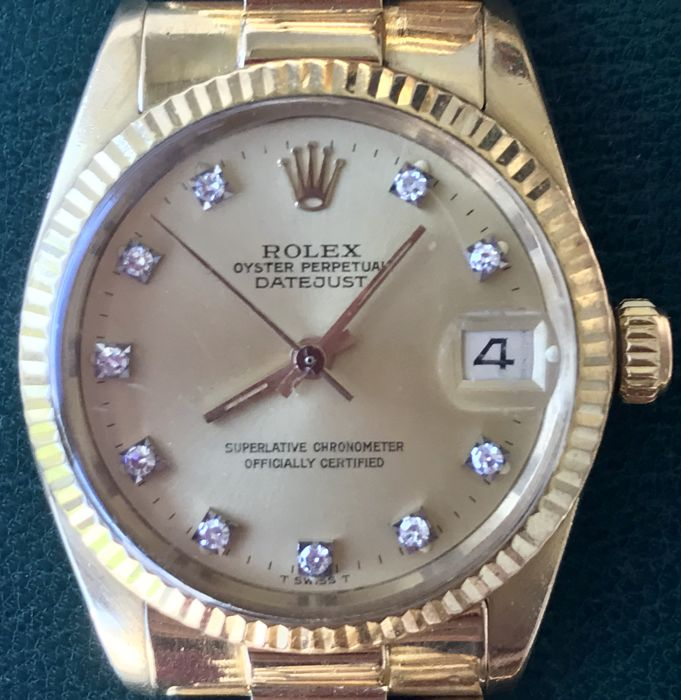 ROLEX OYSTER PERPETUAL DATEJUST - DONNA - 1982