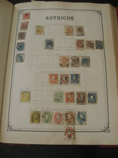 Austria 1850/1935 - Stamp collection including end of catalogue
