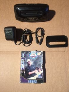 Sega Megadrive 32x console complete with all cables and game!