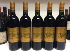 1991 Chateau d'Issan, Grand Cru Classe Margaux, France - 5 bottles 0,75l