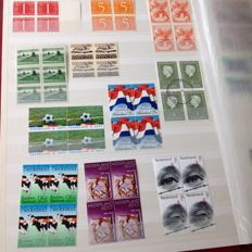 The Netherlands - Batch of FDCs, stamp folders, stamps, blocks of four and stamp booklets