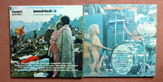 """Woodstock one and Woodstock two -  """"Three days of peace and Music"""" - 5 live records"""