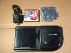 Sega Megadrive Mega CD 2 console complete with all cables and game!