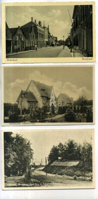 The Netherlands city and village views 102 x, period: 1900-1960