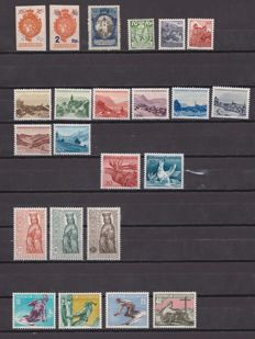 Liechtenstein 1921/1959 – Lot of stamps and series