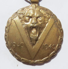 The Commemorative Medal of the war 1940–1945 - WW2.
