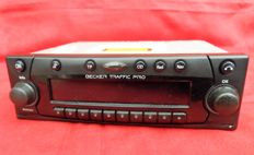 Beautiful Becker Traffic Pro radio/navigation unit, complete with documentation