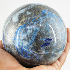 "Top Blue lapis Lazuli  ""healing ball"" - 92 mm - 984 gm"