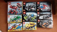 Creator / Technic - 6743 + 4939 + 5867 + 5866 + 8066 + 8256 + 8046 + 42033 + 42026 - Streetspeeder + Cool Cars and more