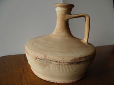 terracotta vase with one handle - height 160 mm